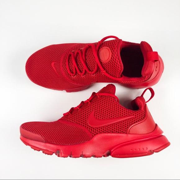 577c1ace8bfb Nike Presto Fly University Red Size 4y Womens 5.5.  M 5ba3db152beb7950bd66fa08